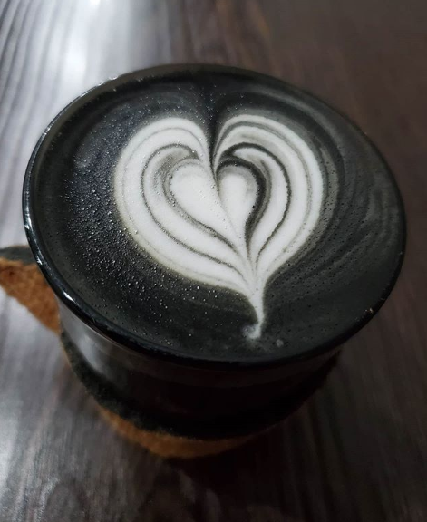 Unleash Your Inner Vampire With A Goth Latte