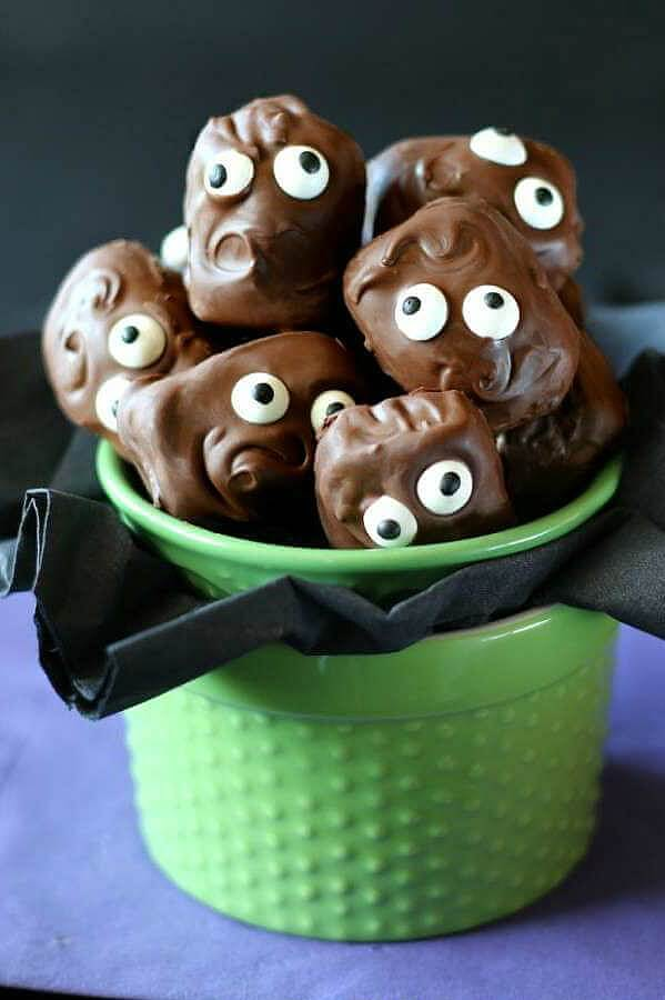 vegan halloween almond joy recipe