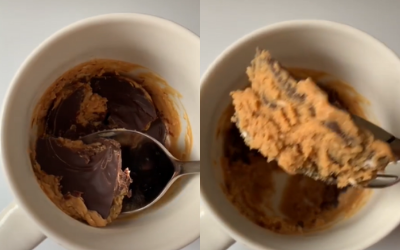 3-Ingredient Microwave Peanut Butter Cup